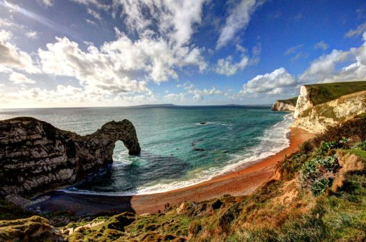Durdle Door by purplepolarbear