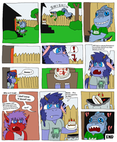 Kuron Birthday cake comic by MagicArt1