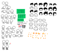 Homestuck baby sprite base by 004-Pika-Jey