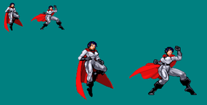 Sprite Work: Soviet Superwoman by SXGodzilla