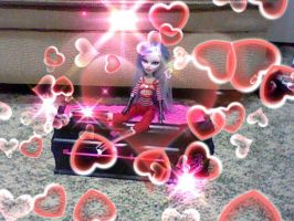 Ghoulia w/hearts by Bowser14456