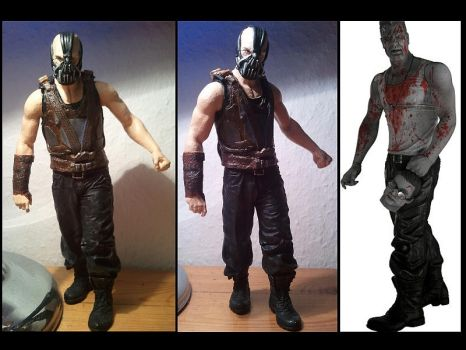 BANE THE DARK KNIGHT RISES 7' by BULAVONC