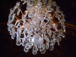Hall of mirrors: chandelier by jasminlucie