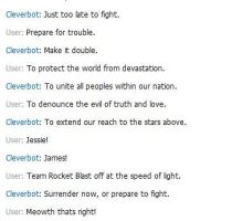 Cleverbot Fun by FirewindShadowClan