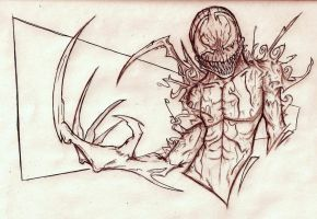 Marvel Monday: Carnage by Diseased-Crab