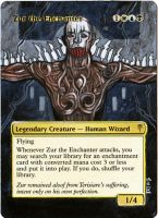 Magic Card Alteration: Zur the Enchanter 9-16 by Ondal-the-Fool