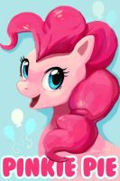 Pinkie Pie Badge by OrcaOwl