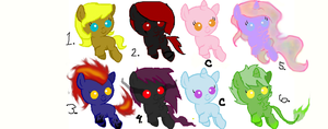 MLP Adoptables! (OPEN!) by Maiko-of-Harmony