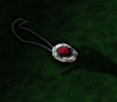 The Red Rose Locket by IvyDarkRose
