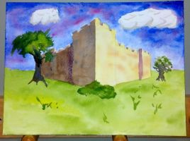 Castle-perspective-wip-04 by muridaee
