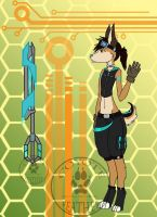 Nano Ref (pic And OC by TheCoyotefeather) by LightsShadow03