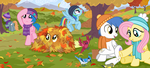 Trot With Me Through the Autumn Leaves by SorcerusHorserus