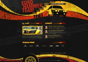 Euro Hammer Team site by floydworx