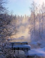 cold colder coldest I by KariLiimatainen