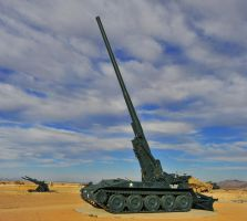M107 175mm Self-propelled Artillery by flatsix911