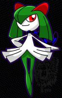 Michael, my Kirlia by TheDocRoach