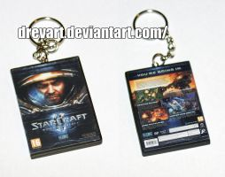 StarCraft II: Wings of Liberty (PC) Keychain by Drevart