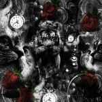 One Cat_Fruit_Clock Coins V6 by Rickbw1