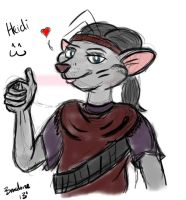 Heidi Quickie by The-B-Meister