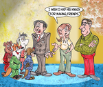 Commission: Win friends and influence people by Granitoons