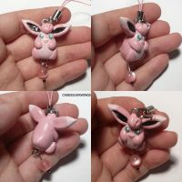 Wigglytuff Charm by ChibiSilverWings