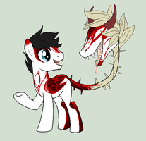 Cow Plant Pony :Auction ClOSED: by Glitternaut