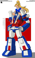 Coloring Commission - Ultra Magnus and Sparkle by StarDragon77