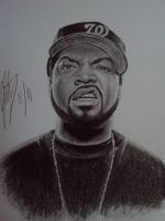 Ice Cube by sketch649