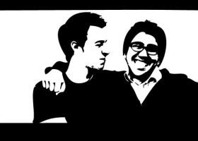 Jake and Amir by Nghh