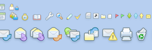 Icons for mail program by raynoa