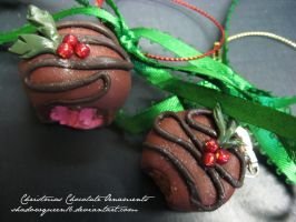 Christmas Chocolate Ornaments by shadowqueen16