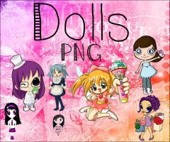 #Dolls PNG :D by Sophiafacal