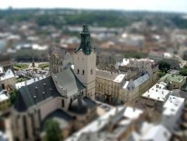 Tilt-Shift  Lviv by Maiyoko