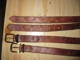 Belt steampunk by akinra-workshop