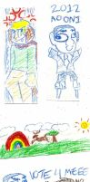 MY BEAUTIFUL CRAYON DRAWINGS by Lucky-Puppy