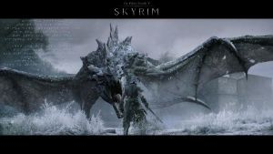 Skyrim Wallpaper 3 by GeOh-One