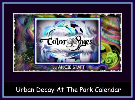 Urban Decay At The Park Calendar by angiestaft