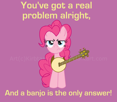 MLP Design-Problems and Banjos by Kirbtaro05