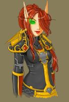 blood elf paladin-col by szienna