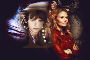 The Ties That Bind ~ Emma and Henry OUAT by dark-fairytale-art