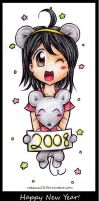 Happy 2008 everyone by Rebecca13