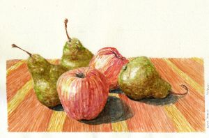 Apples and Pears by aliaa