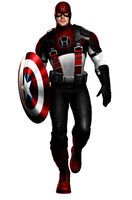 Captain America Red Lantern by 666Darks