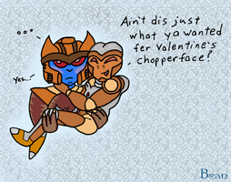 Belated Valentine DinoTrap by beanchan