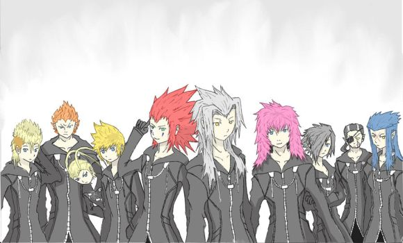 Organisation XIII coloured version by TimTam13
