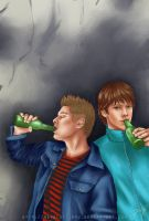 College - beer by vongue