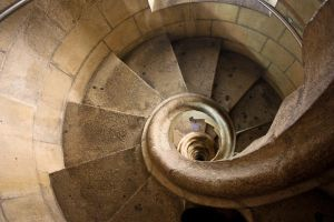 Sagrada stairs by Lucy-art