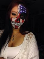 America Skull 2 by captainsarasparrow