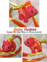 Baby Rockets Custom Pony by mayanbutterfly