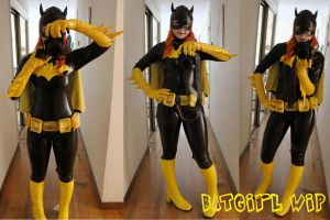 Batgirl WIP Almost Done by SugarBunnyCosplay